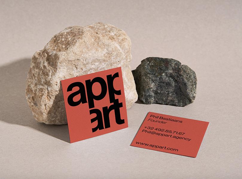 Antonio Calvino Creates Identity for Appart Studio