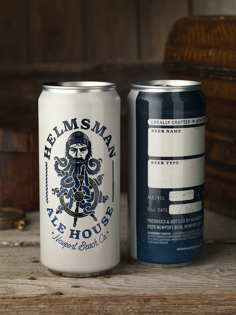 Packaging for Helmsman Helps New Brewery Set Sail