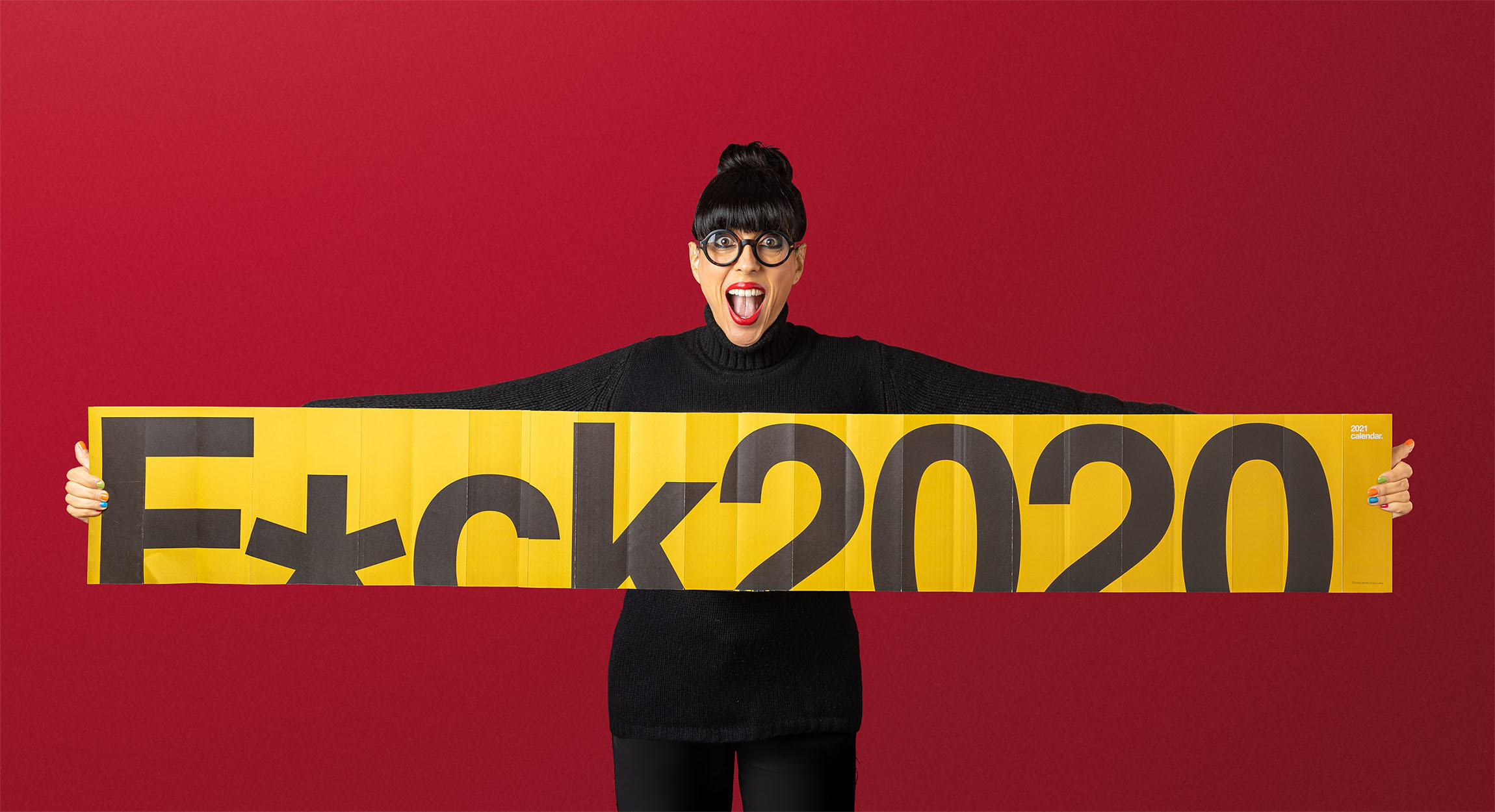 Lateral Creative Hub Create 2021 Calendar 'F*ck2020'