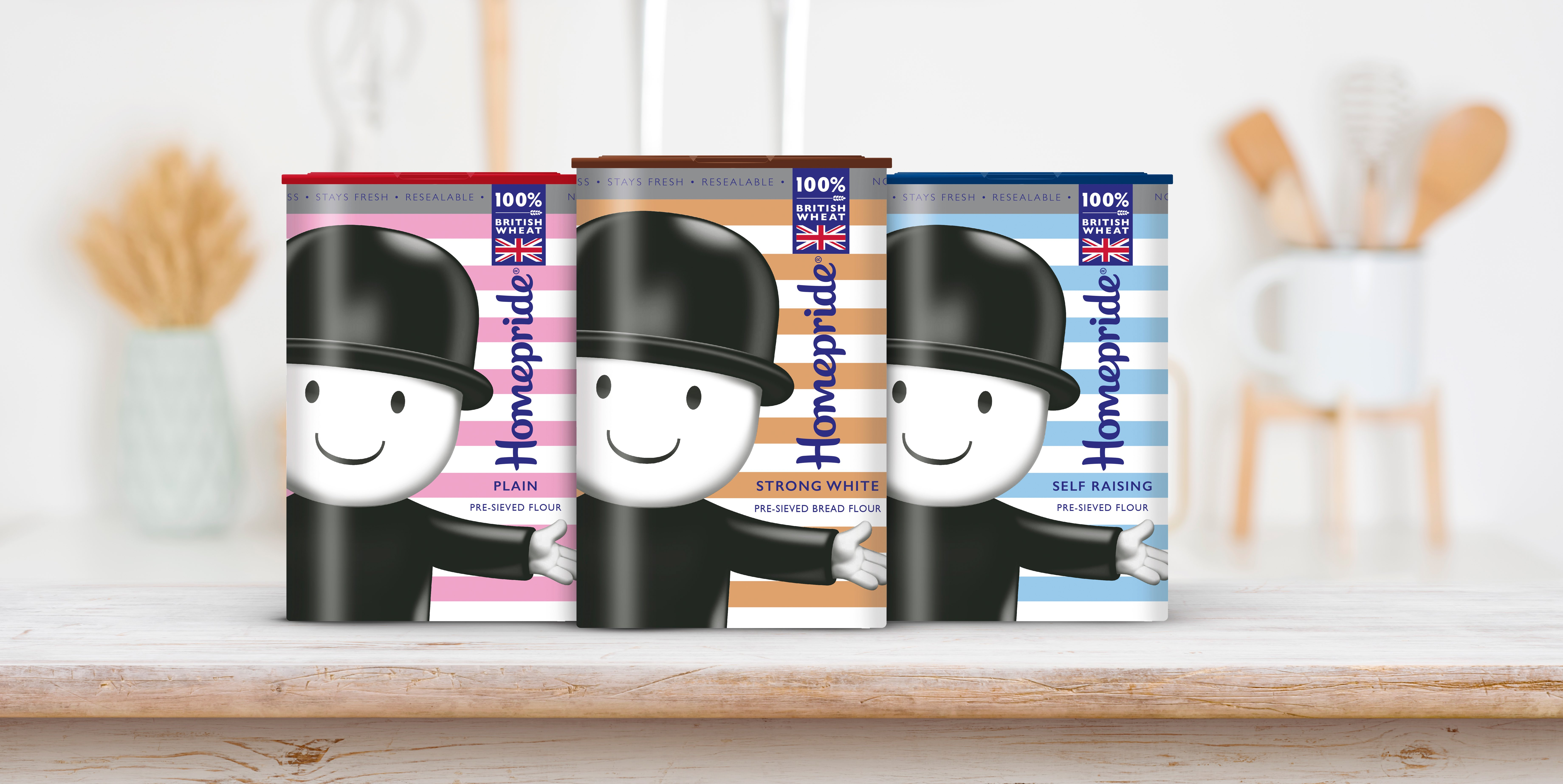 Wowme Delivers a Design Make-Over for Homepride's Fred Packaging