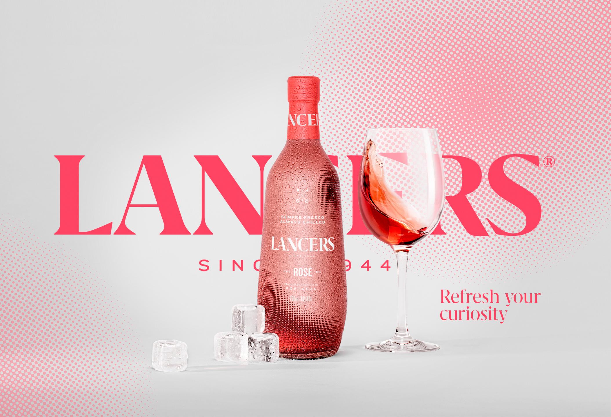 Volta Redesign the Iconic Lancers Wine