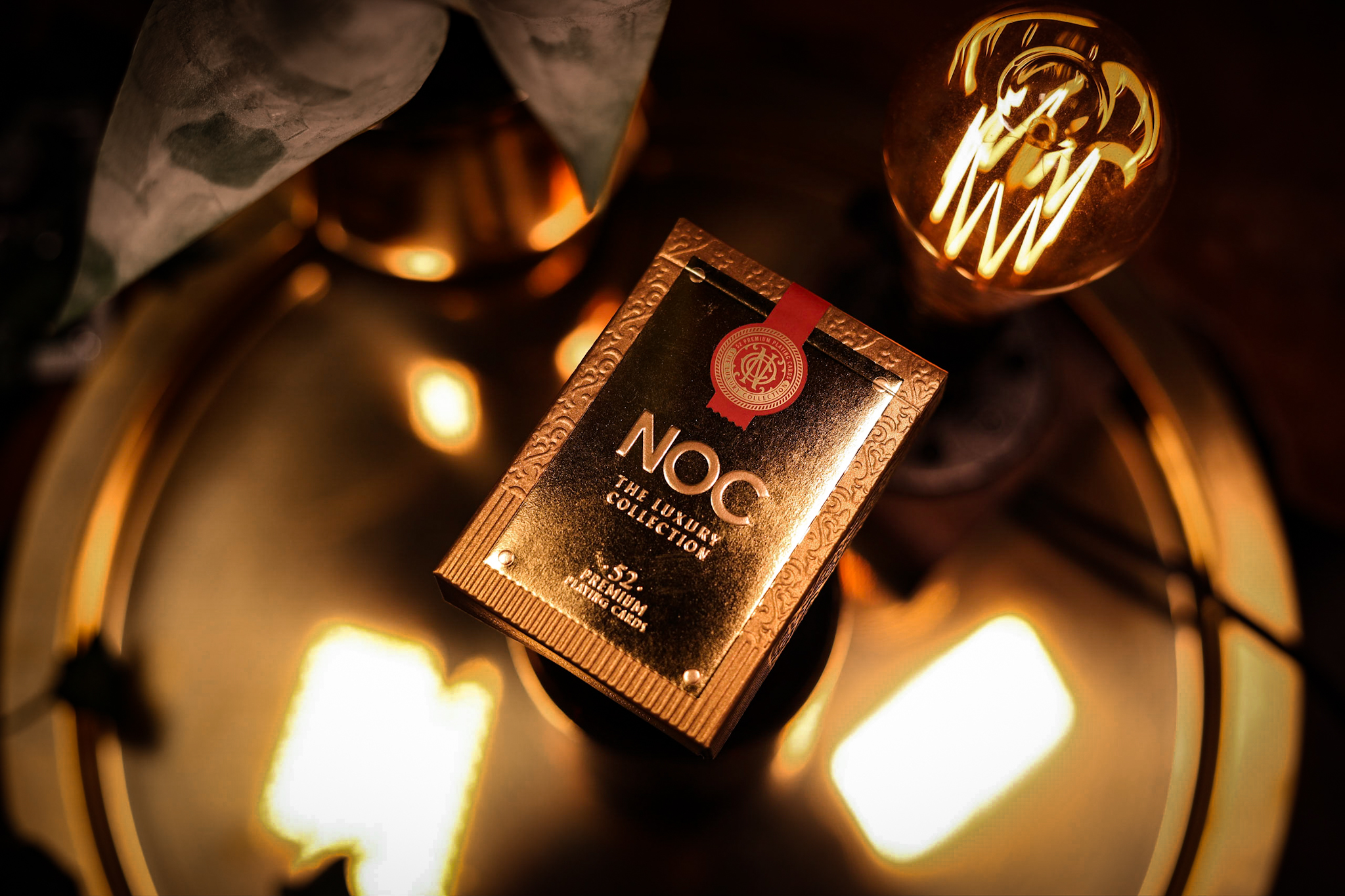 Tuck Box Design for NOC: The Luxury Collection Playing Cards Created by Widakk Design