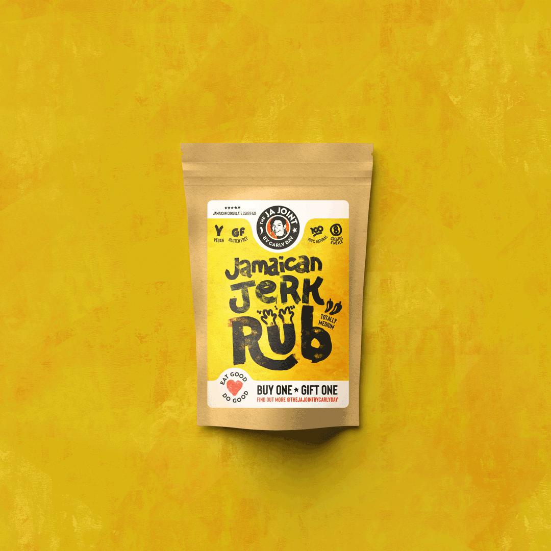 The Ja Joint Jamaican Jerk Rub Packaging Design