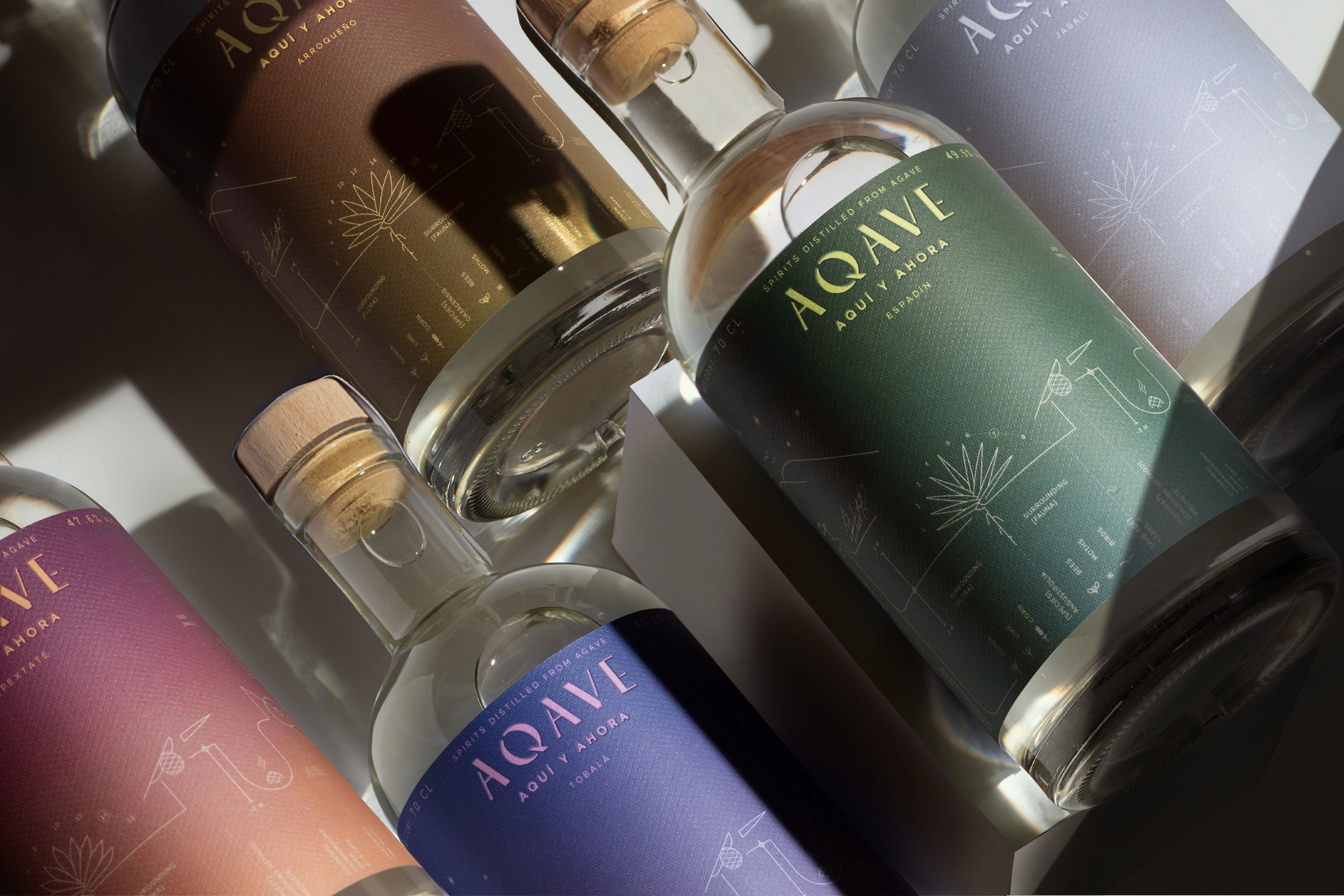 Aqave – A Spirits Collection from Amsterdam Created by Toro Pinto