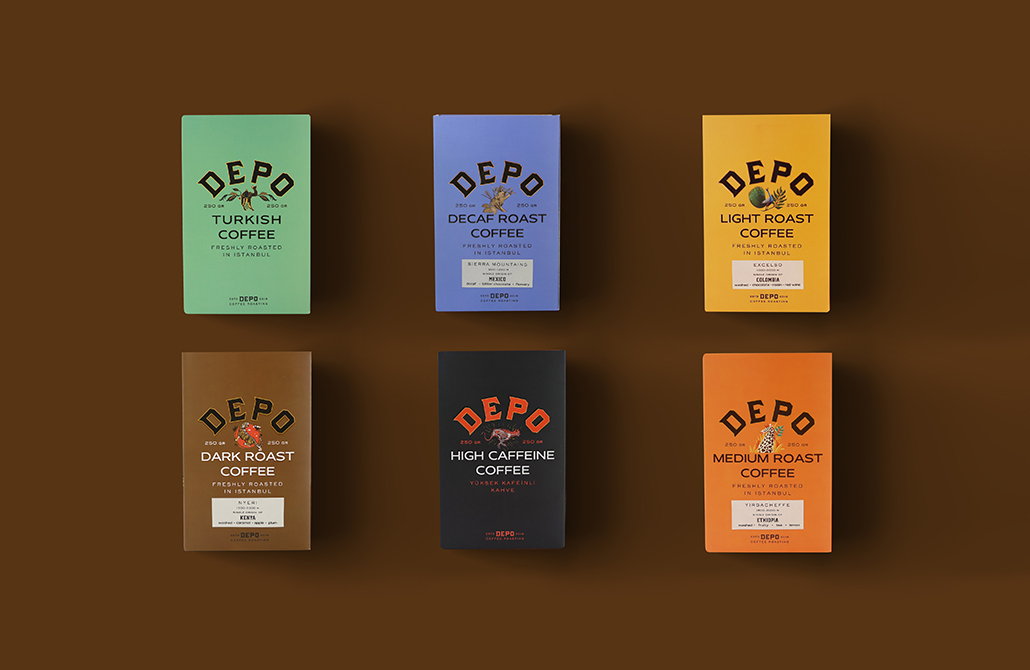 Zeki Michael Studio Creates Depo Packaging for the Artist's Jungle Range