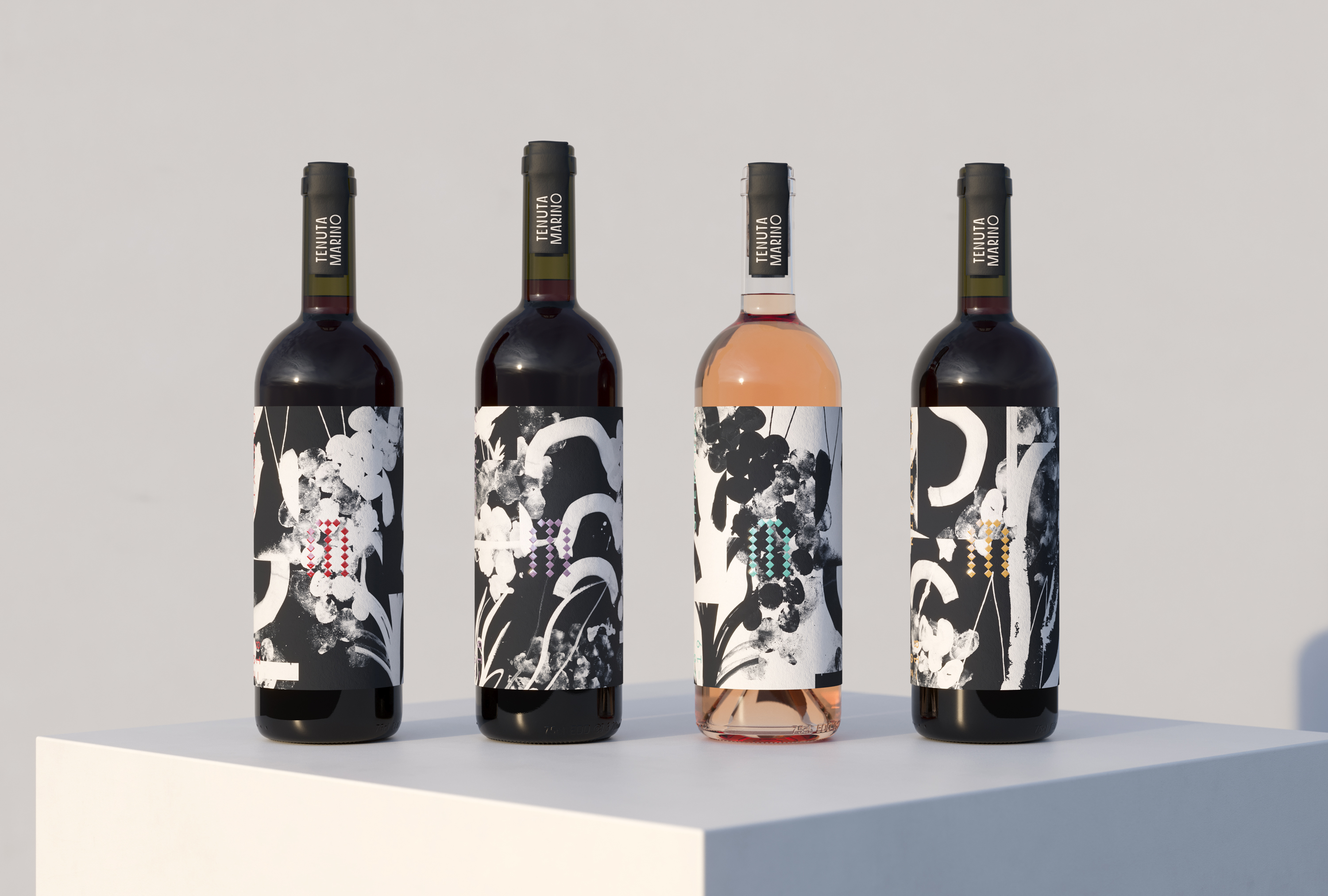 IWANT Design Branding and Packaging for Winery Tenuta Marino
