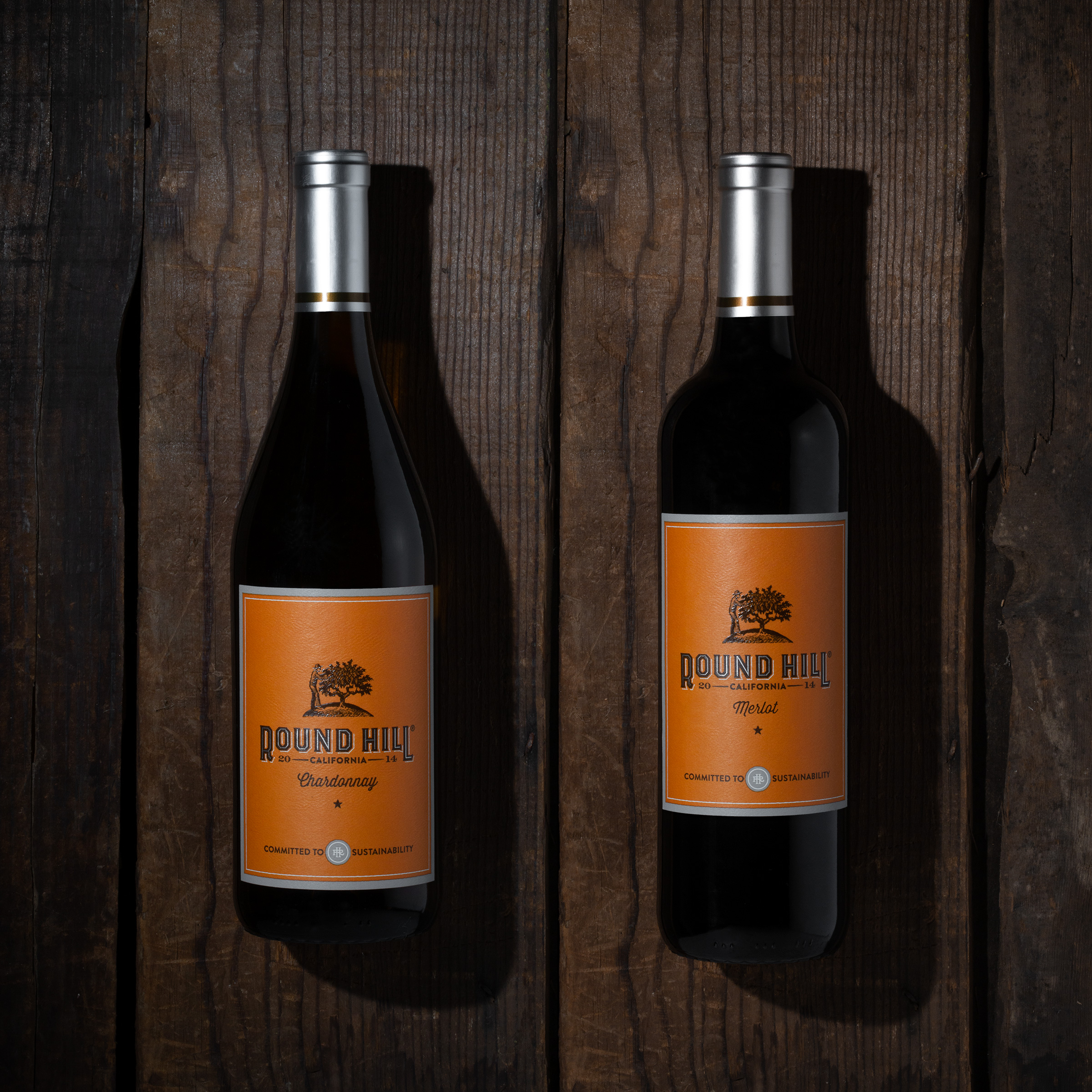 Round Hill Vineyards and Cellars Packaging Design Refresh by Force & Form