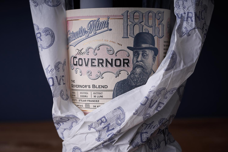The governor – A Premium Wine Label Design Designed by 43oz Design Studio