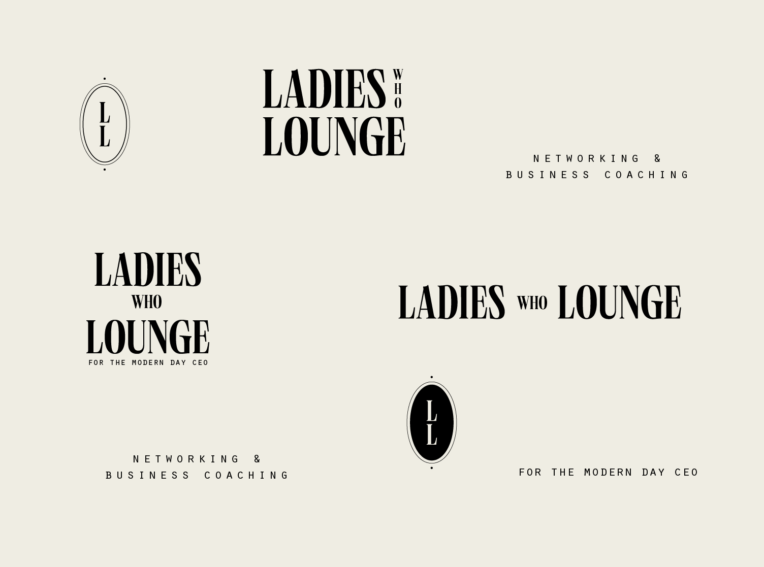 Visual Identity for Conceptual Female Networking Event