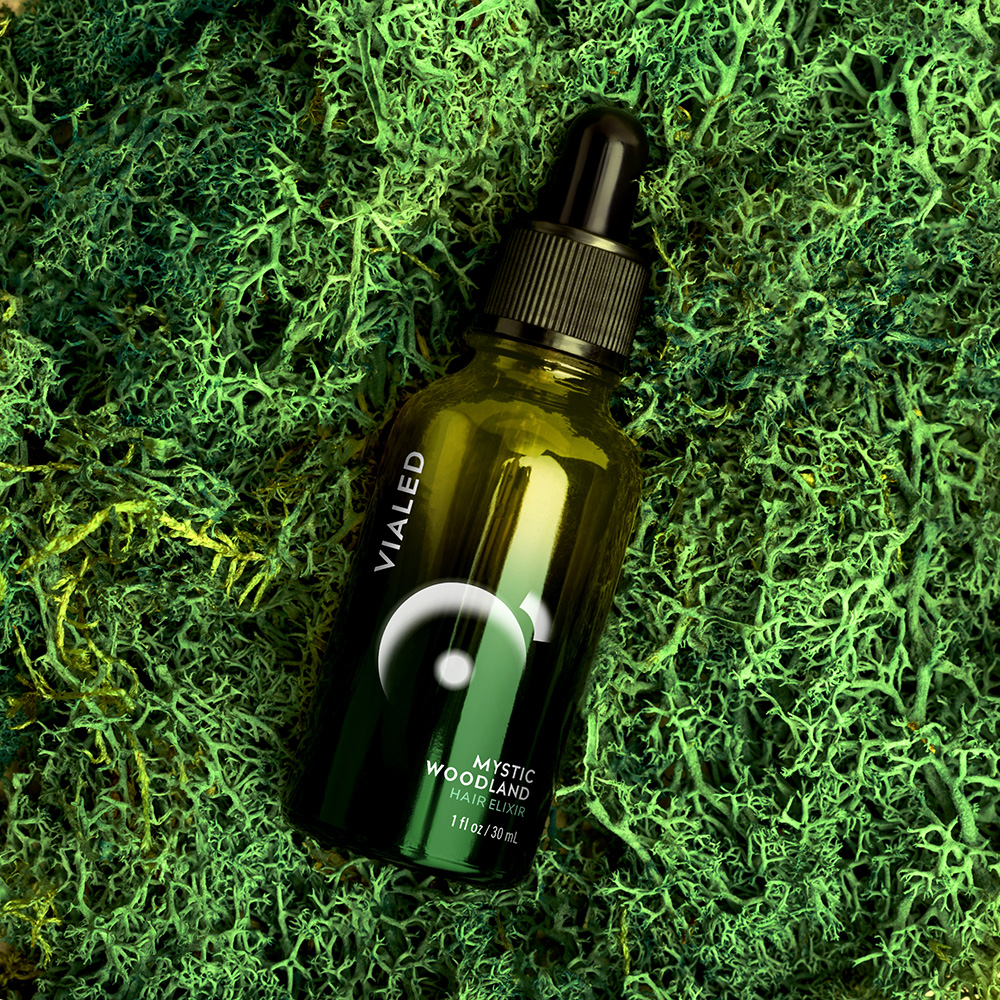 JxL Creative Design Branding for Vialed Hair Oils Products