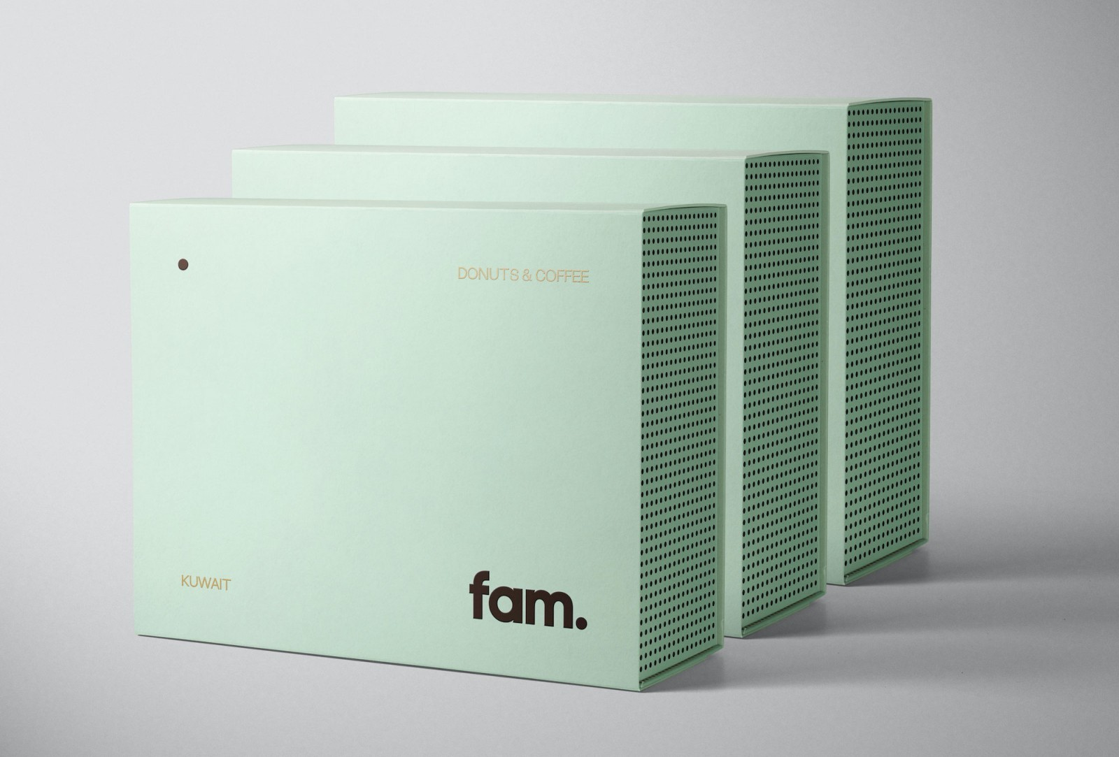 Fagerström Create Visual Identity and Packaging for Fam – A Premium Donut Brand From Kuwait
