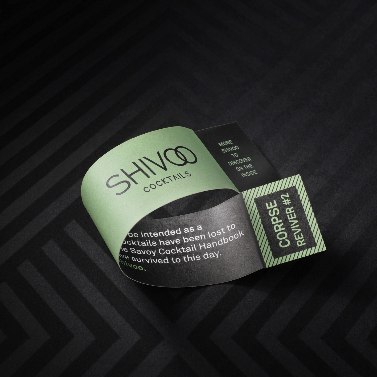 Brandnew Creates Packaging Design for The Unexpected Cocktail Shivoo