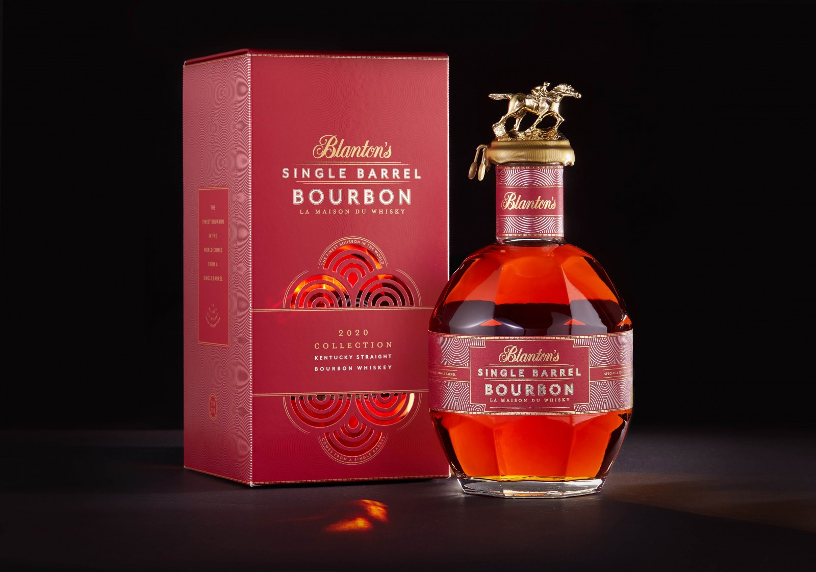 Packaging Design for Blanton's 2020 Limited Edition by COHO Creative