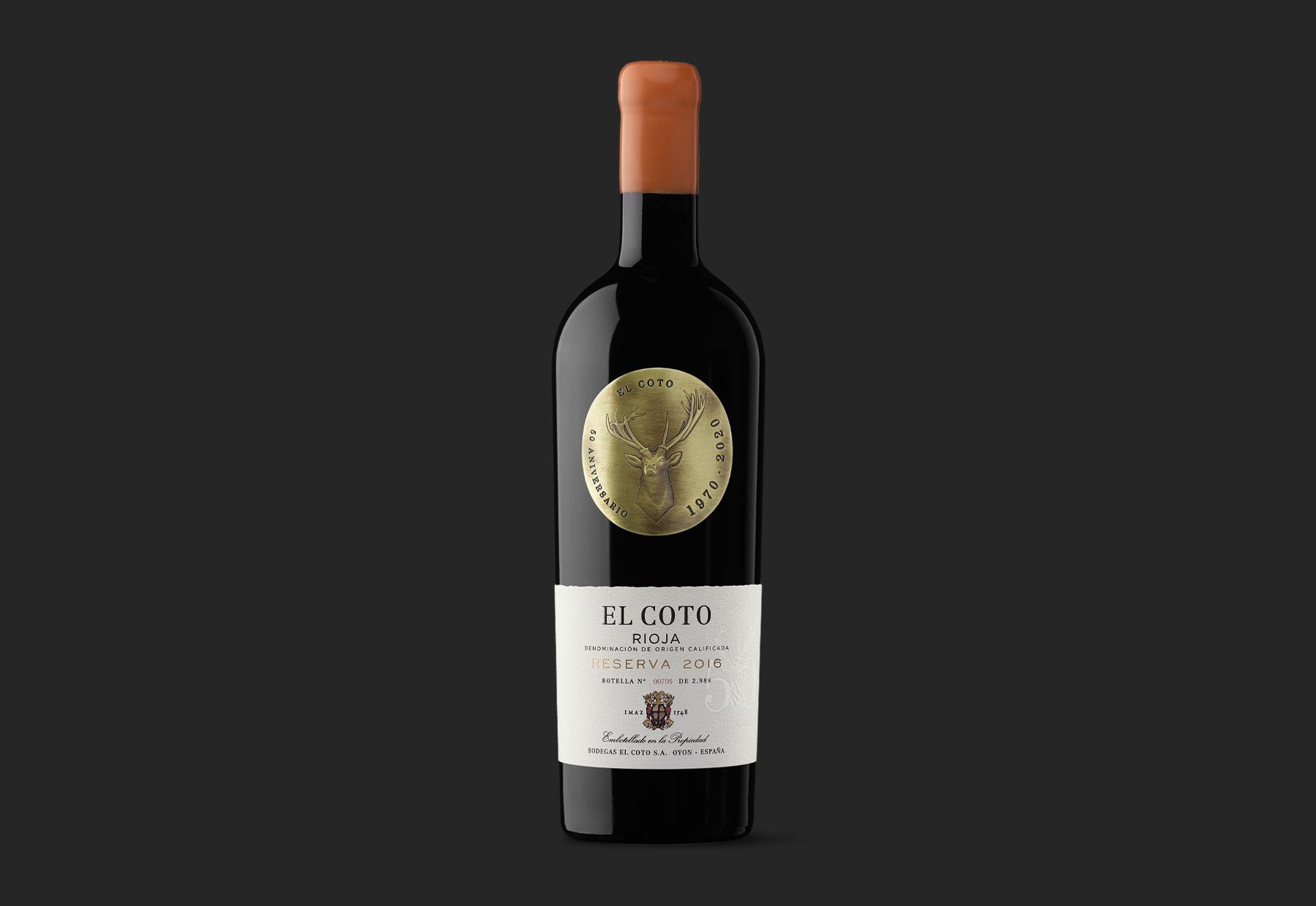 El Coto 50 Aniversario – A Special Design For a Special Wine by Moruba