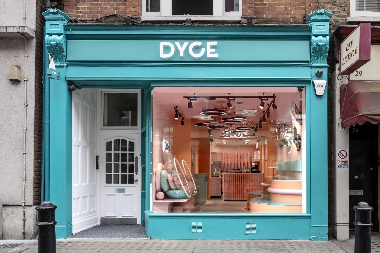 FormRoom Creates Interior Brand Identity for Dyce Ice Cream Shop