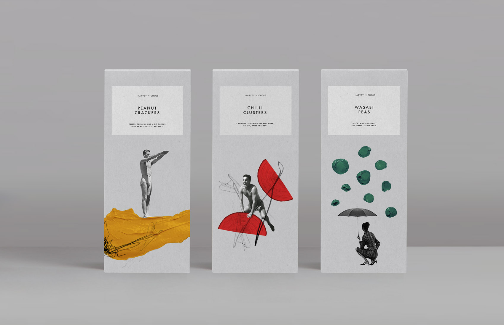 Alphabet Concept Design for Harvey Nichols Food Store Packaging