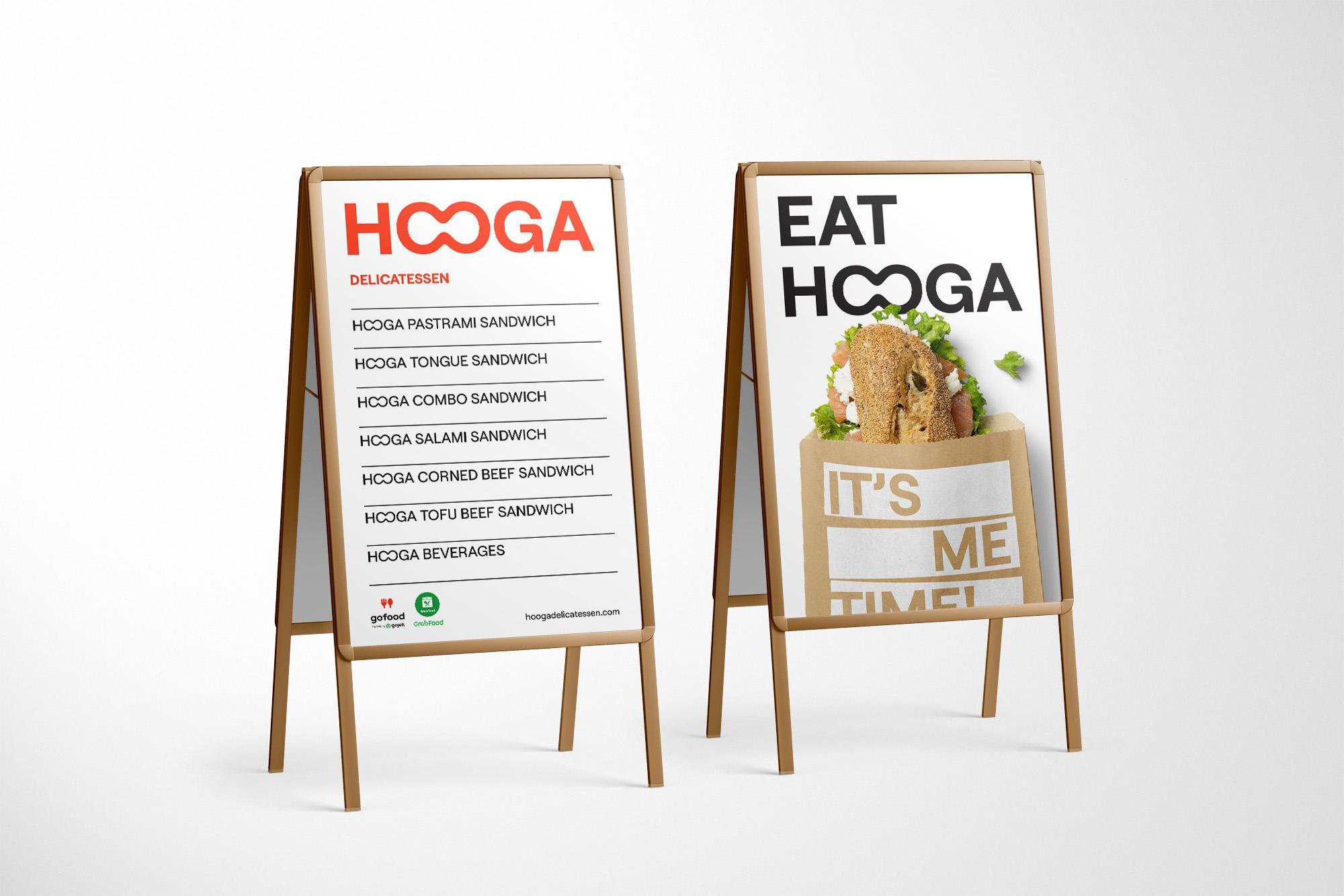 Hooga Delicatessen Branding Designed by Widarto Impact