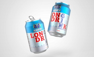 KOFF Long Drink Brand Identity and Packaging Design by Bluemarlin