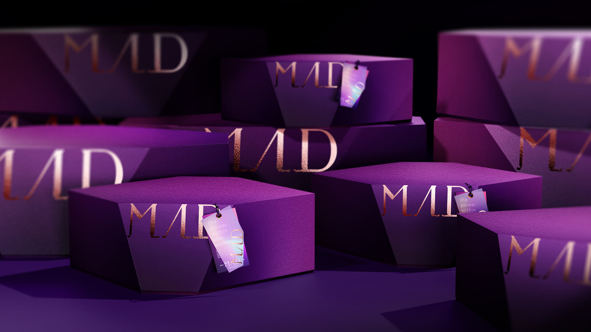 Forward Design Studio Create Brand Identity for a Bold and Luxurious Fashion Brand Mad Fashion