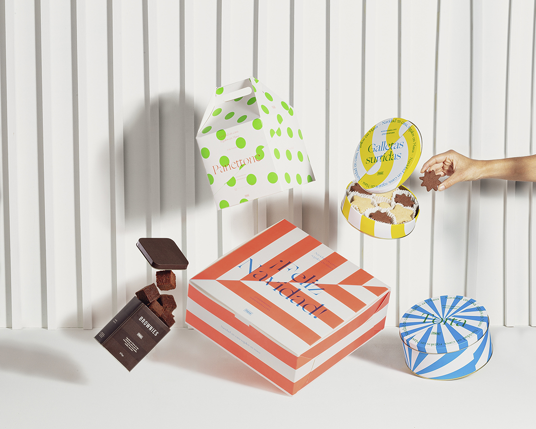 Christmas Packaging Design for Masa's Bakery Designed by S&Co