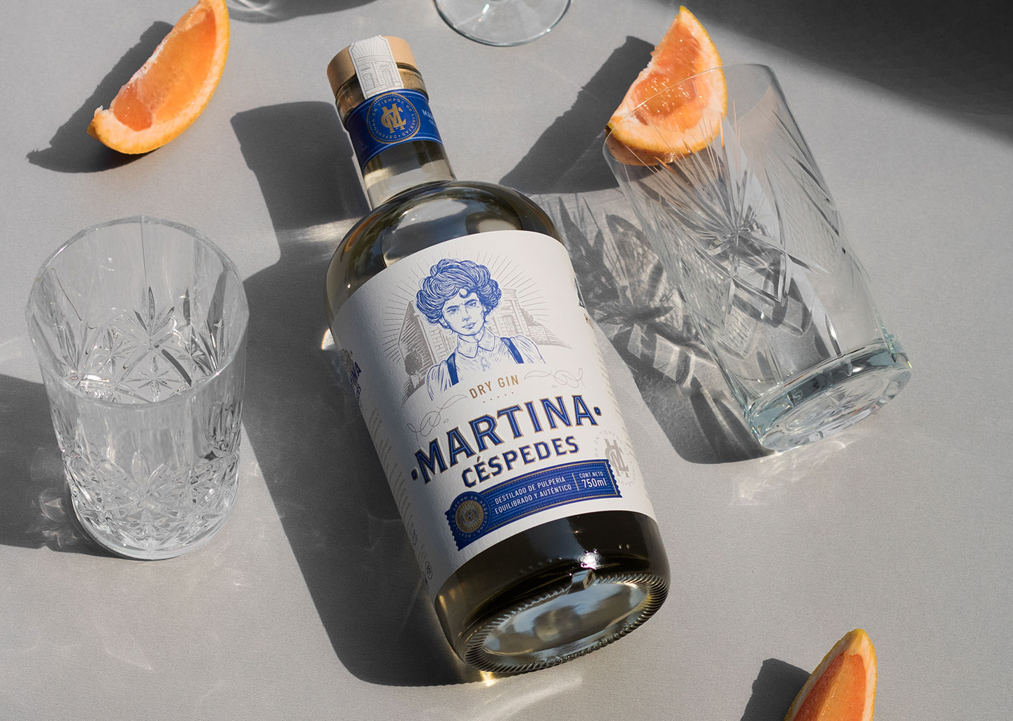 Emi Renzi Create Packaging Design for a Distilled Gin From Argentina