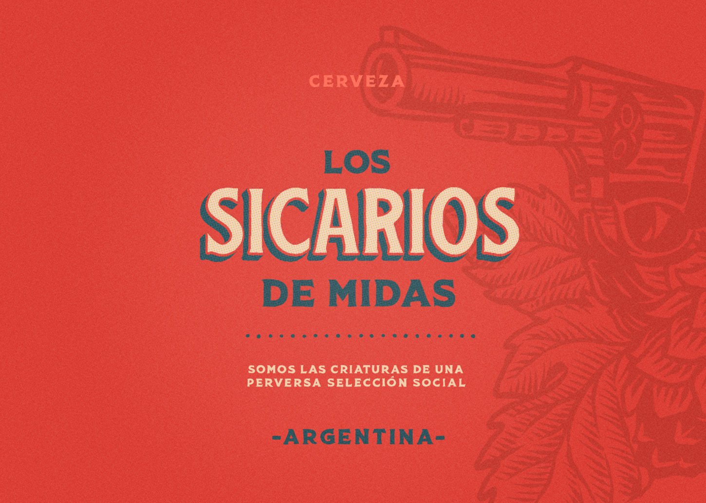 Emi Renzi Creates Packaging Design for a IPA American Style Beer from Argentina
