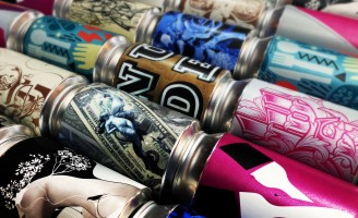 10/10 Art Show an Exclusive Collection of Cans by Nude Brand Creation