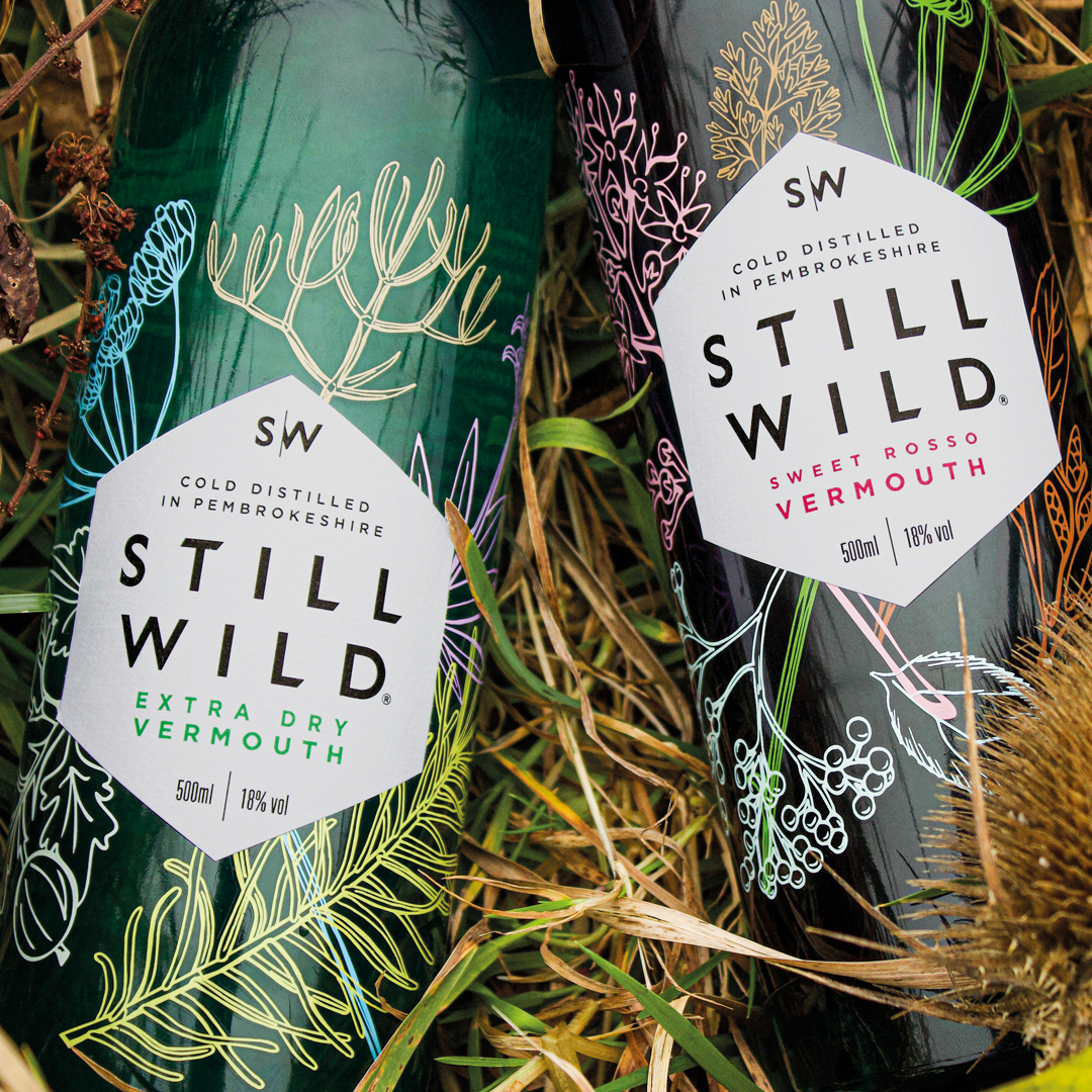 Wild Packaging Design for Hand-Foraged Spirits by Design Activity