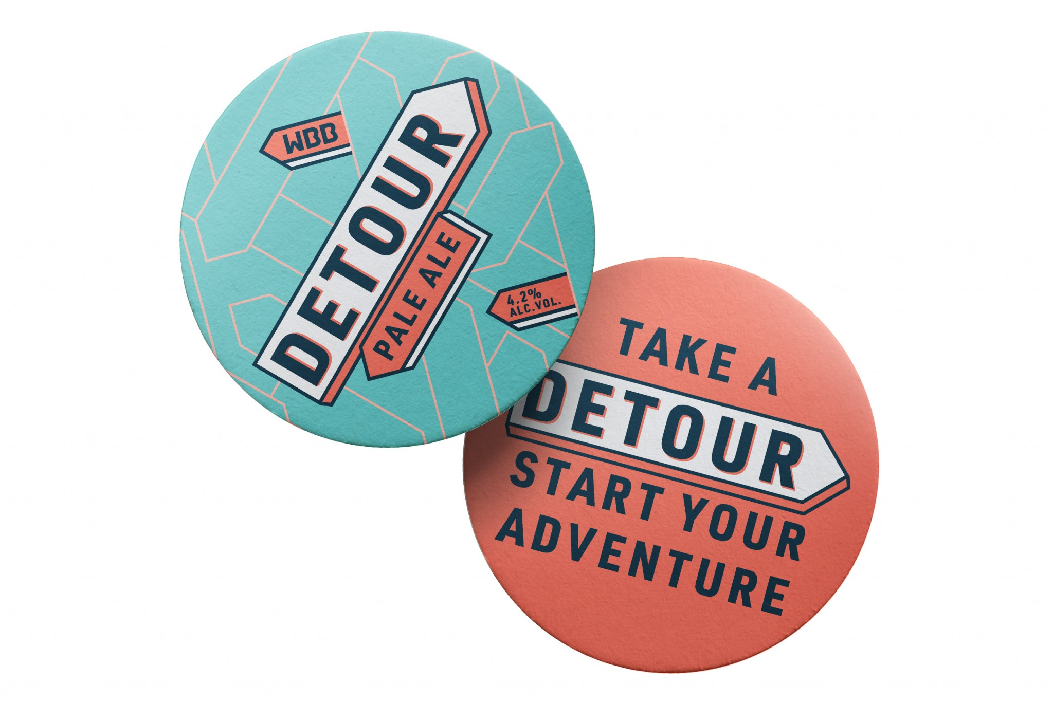 Brand Design for Detour Pale Ale by Thirst Craft