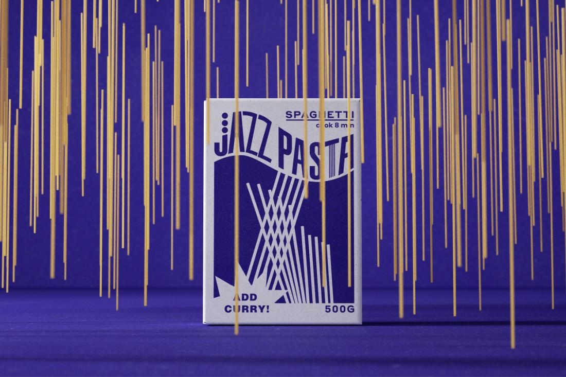 Pasta Inspired by Jazz Music by Valeria Obrazkova