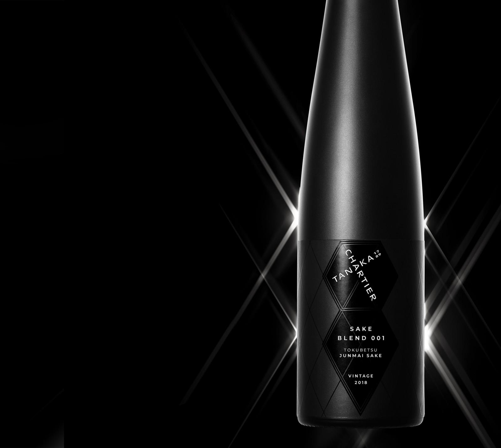 Blending The Best With The Best – Tanaka 1789 X Francois Chartier Sake Brand Design