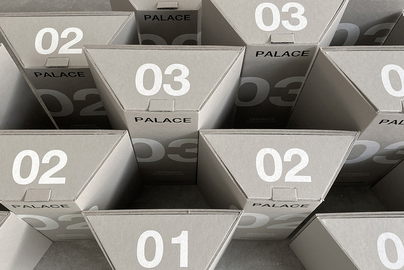 Palace Ceramics Collection Packaging Design Created by pmdesign