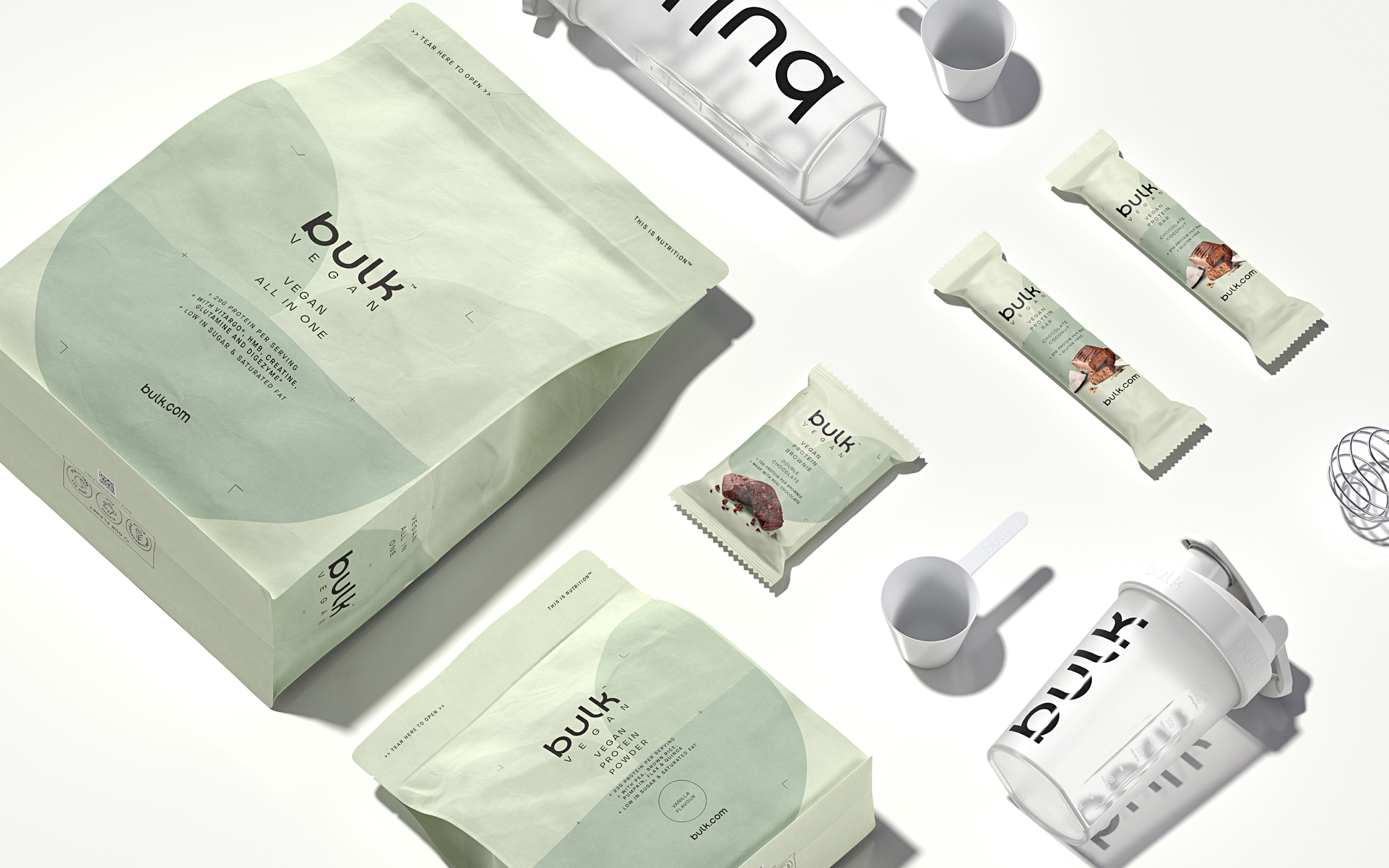 Robot Food Reposition Bulk as an Aspirational Active Nutrition Brand