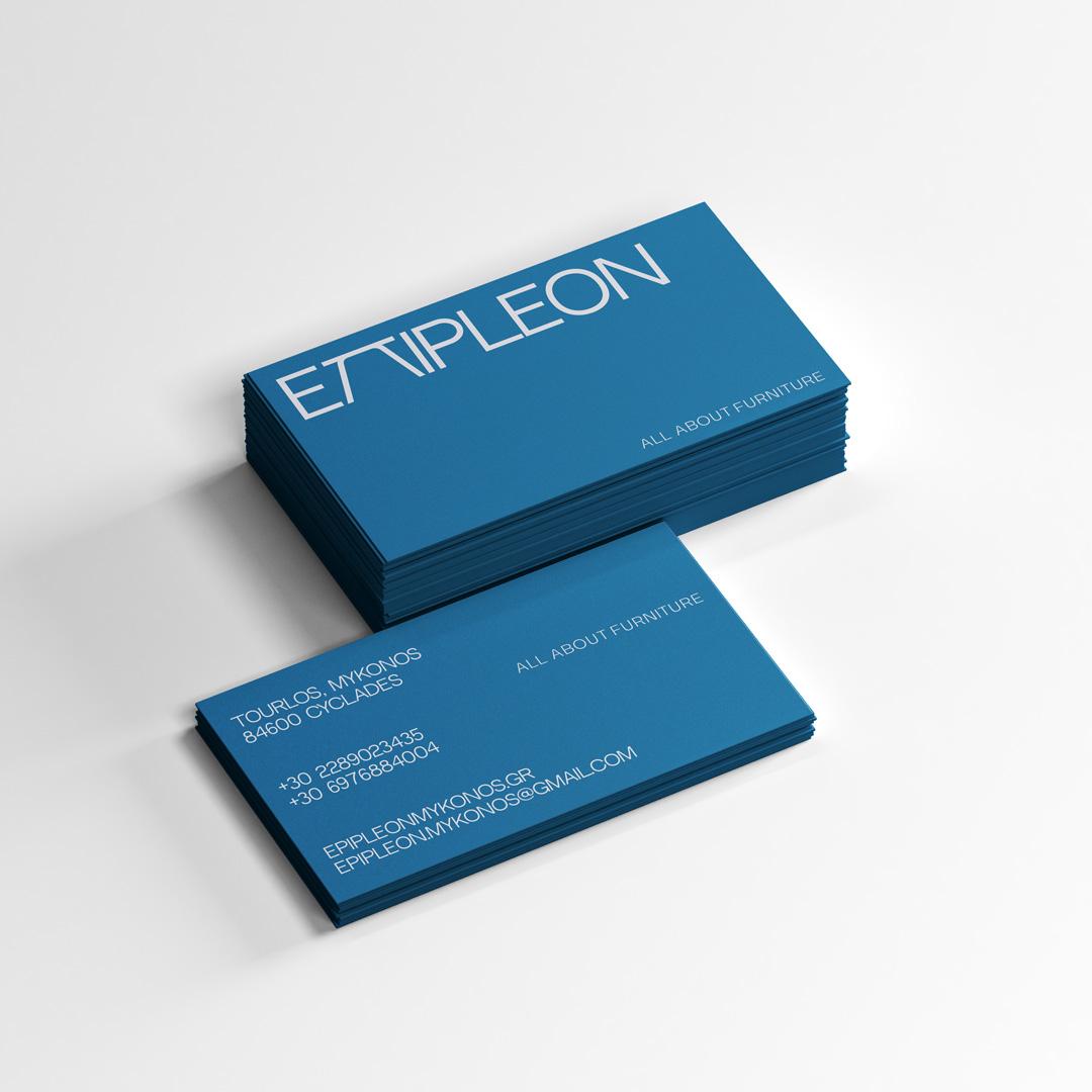 Candia Souranaki Creates Branding for Epipleon Furniture Store