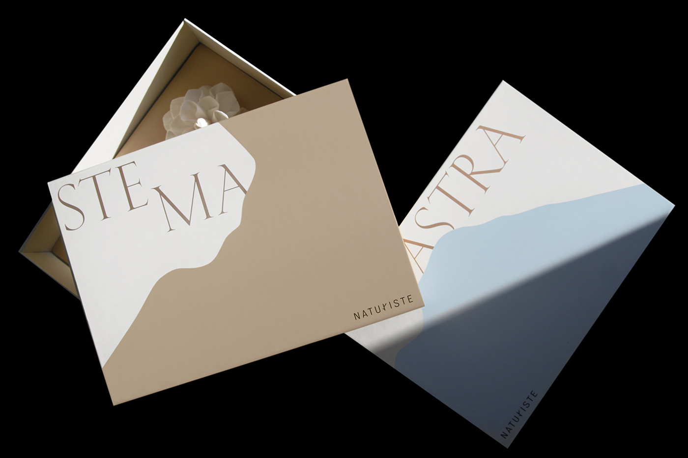Paprika Creates the Packaging of Thematic Gift Boxes for Naturiste