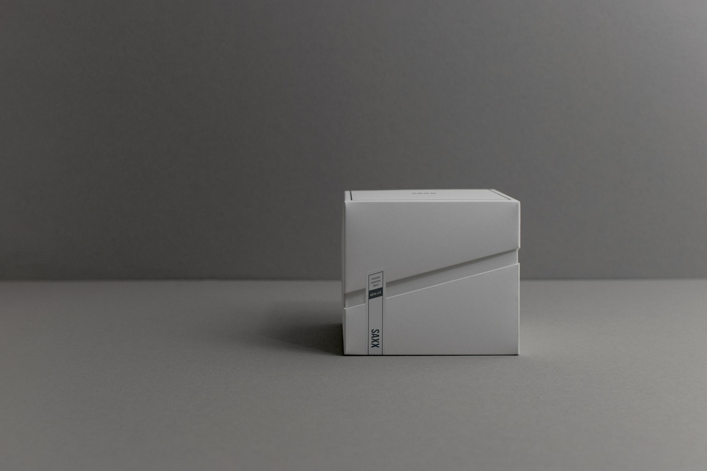 Packaging Design for Saxx Underwear's Luxurious Line