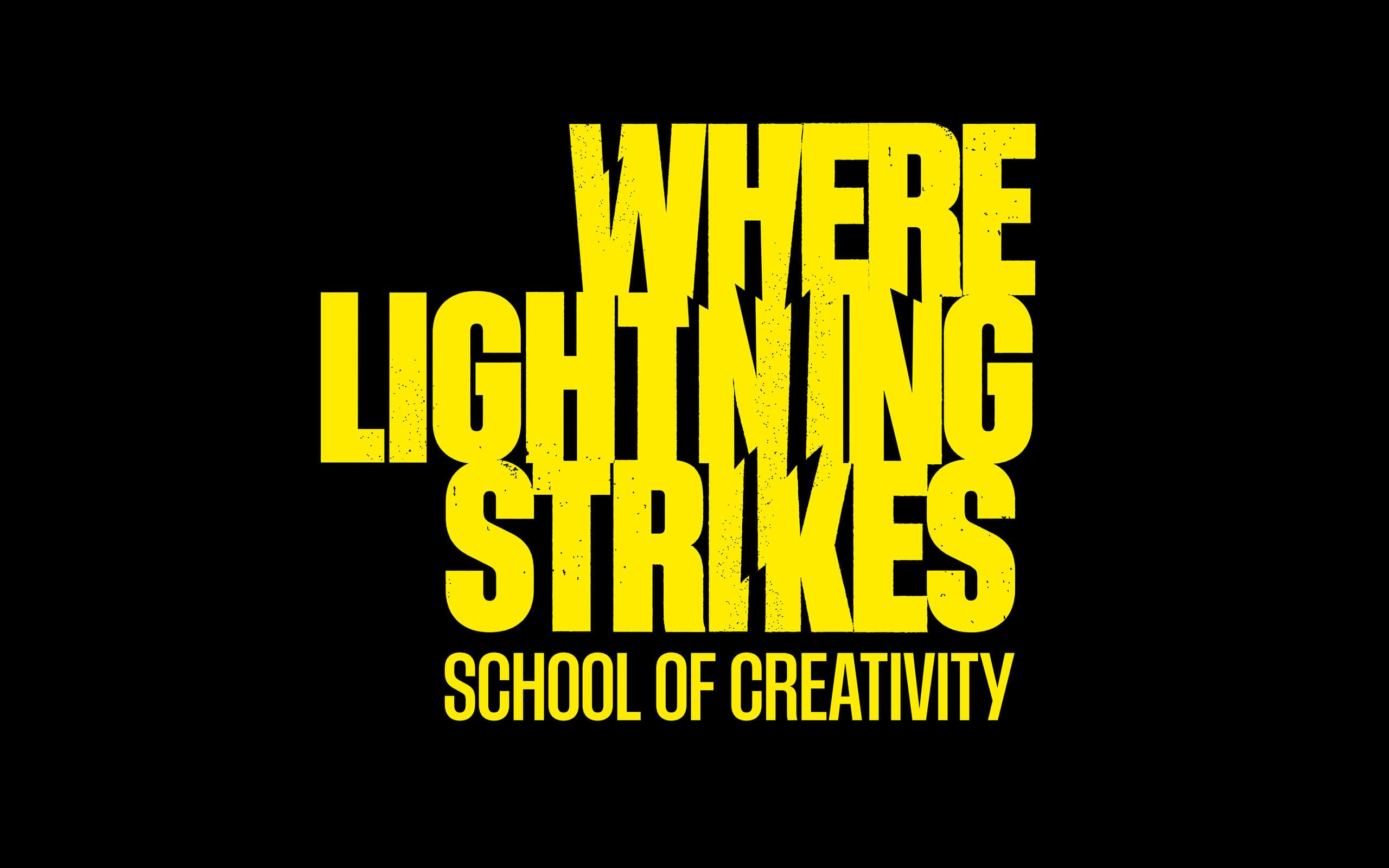 Where Lightning Strikes School of Creativity Brand – Taller Design