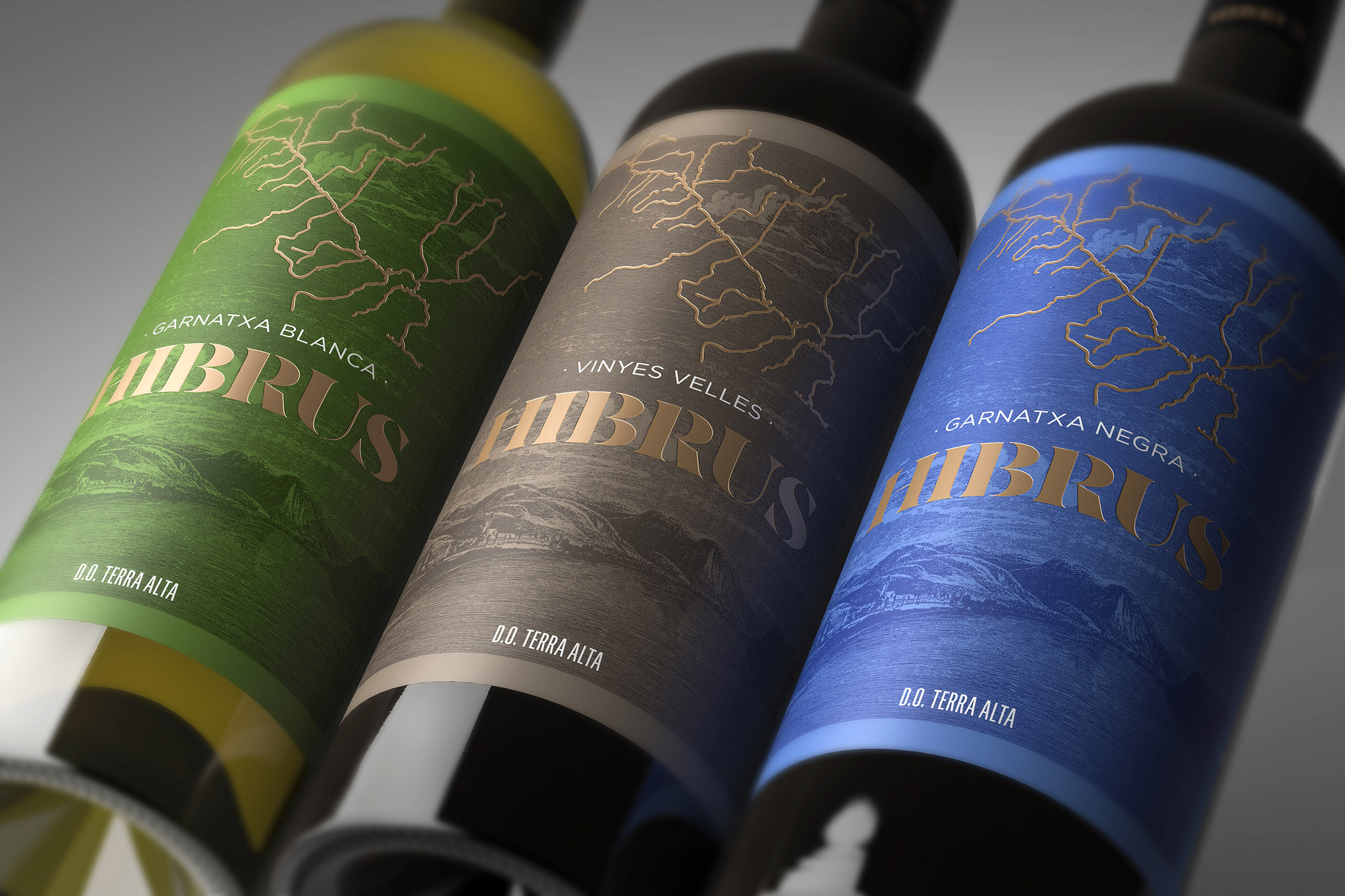 Bulldog Studio Creates Hibrus New Range of Wine Labels