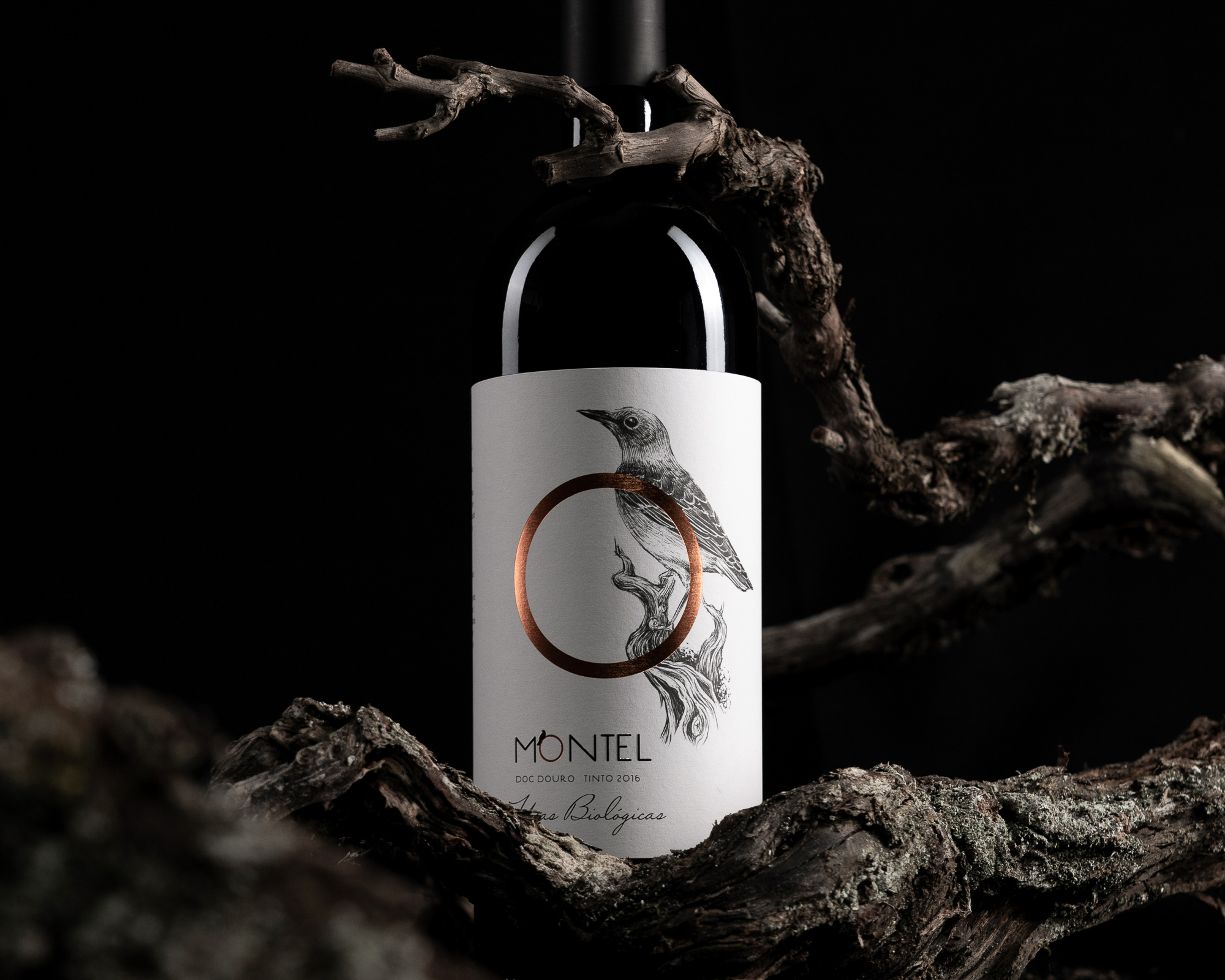 Vinco Studio Design Label for Montel Organic Wines