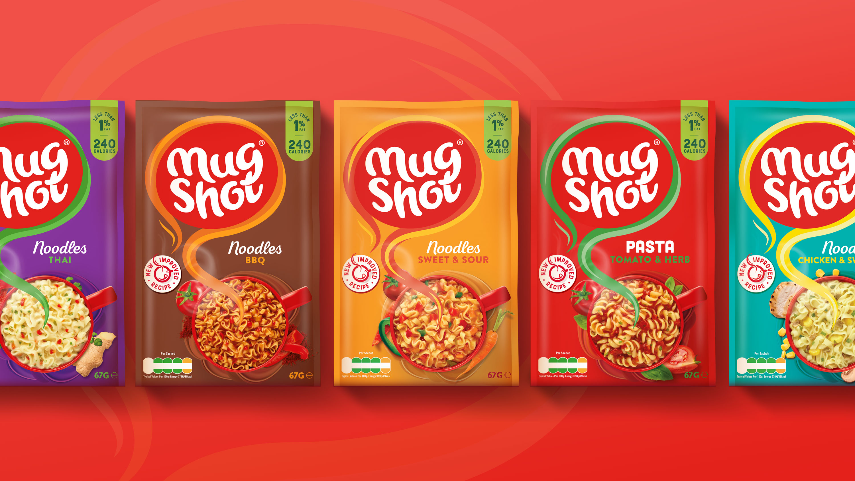 Mug Shot Range of Healthy and Convenient Hot Snacks and Soups Redesign by Brandon