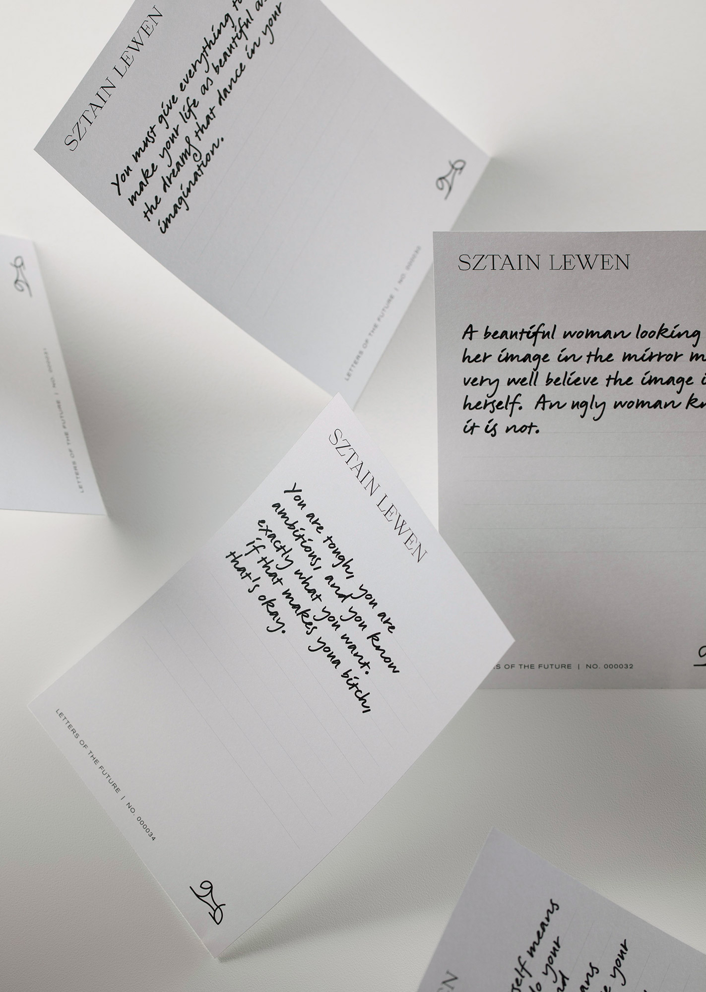Ark Visual Unveils Brand Identity for Fashion Label Sztain Lewen