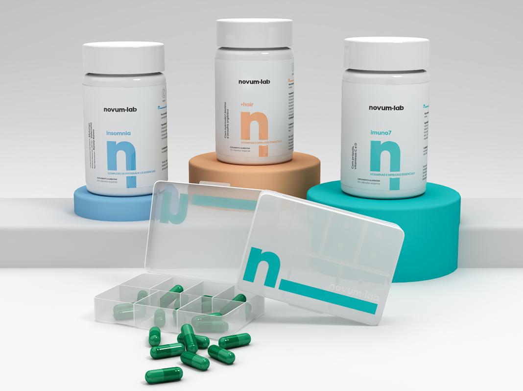 Estudio Boutique Creates Packaging and Brand Design for Novum.Lab