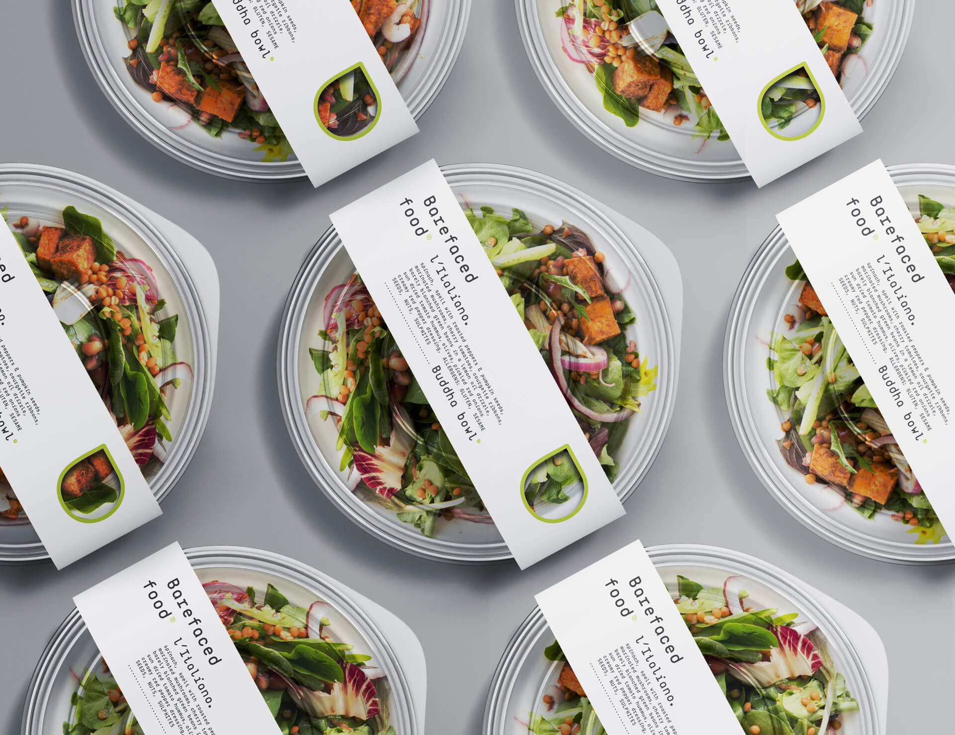My Creative Design Barefaced Food Vegware Label System