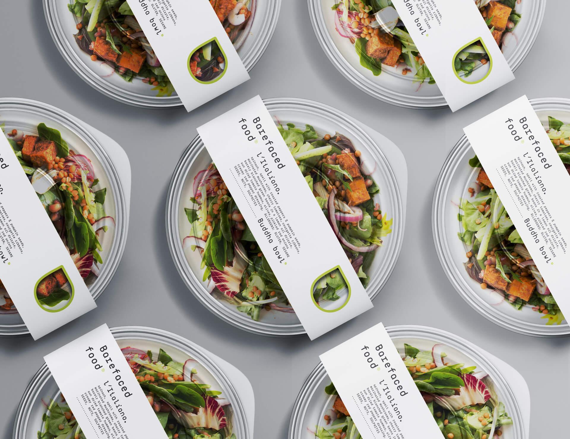 My Creative Design Barefaced Food Vegware Label System