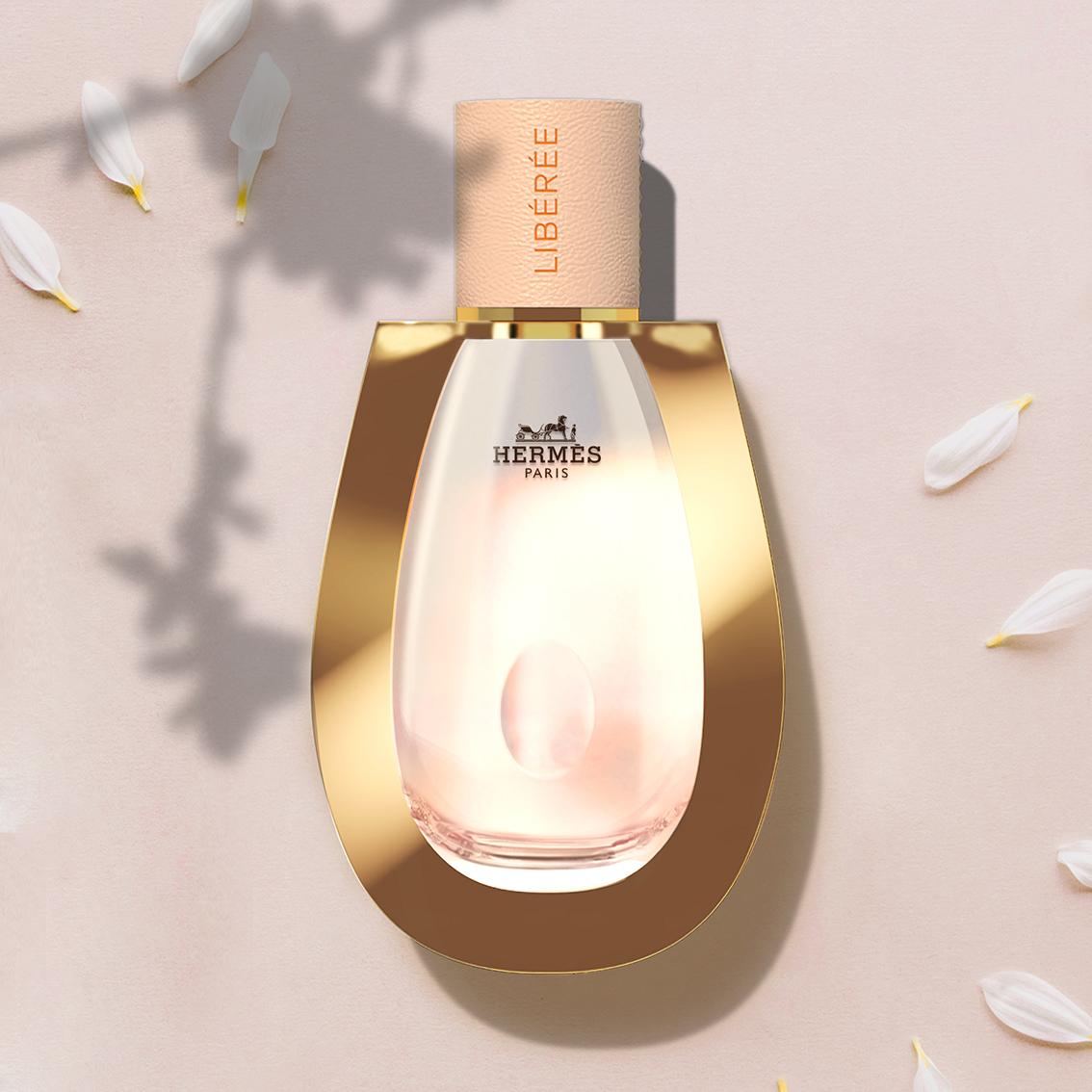 Intertype Studio Creates Concept for Hermès Libérée Fragrance