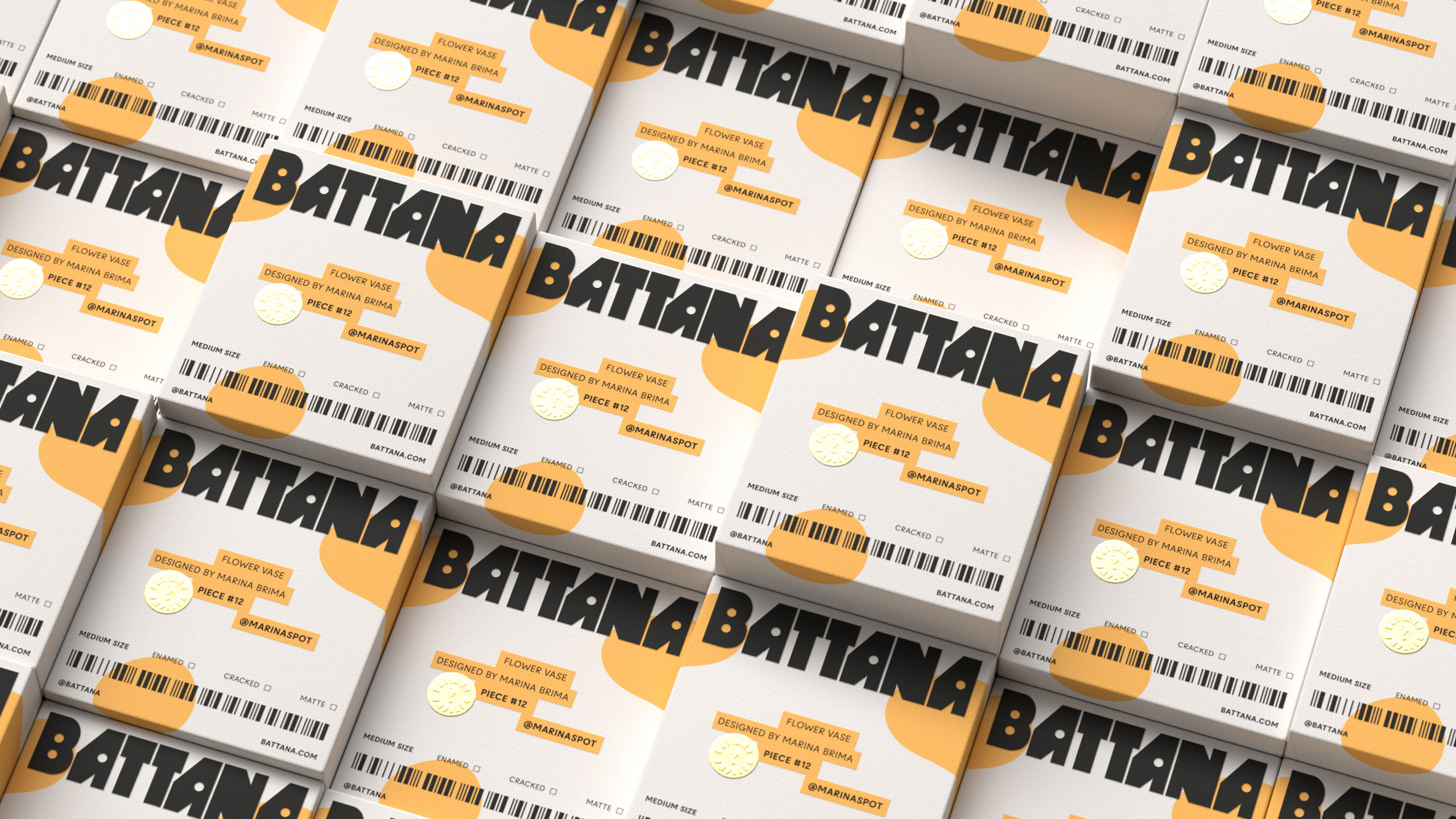 Battana Branding and Packaging Design by Moises Baca