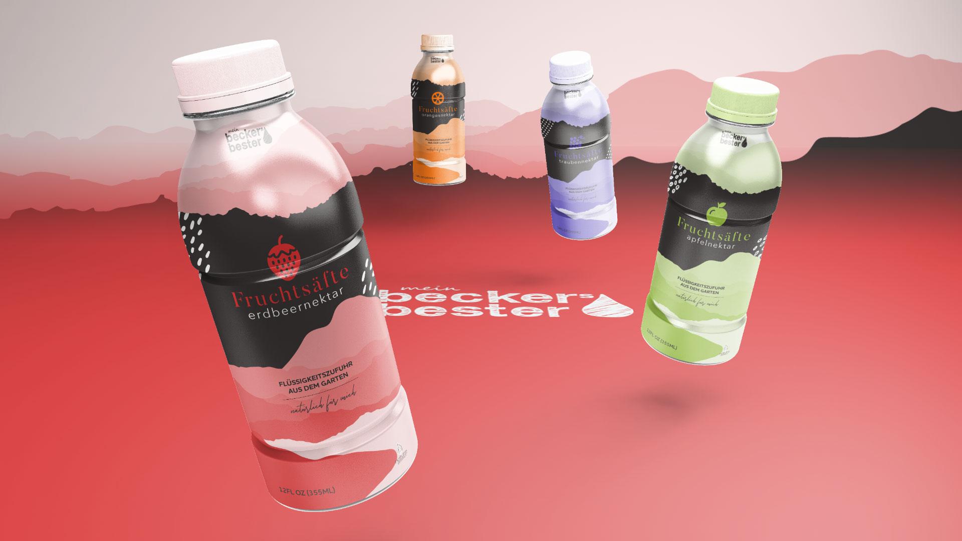 Vinille Create Packaging for Becker's Bester, German Fruit Juice Manufacturer
