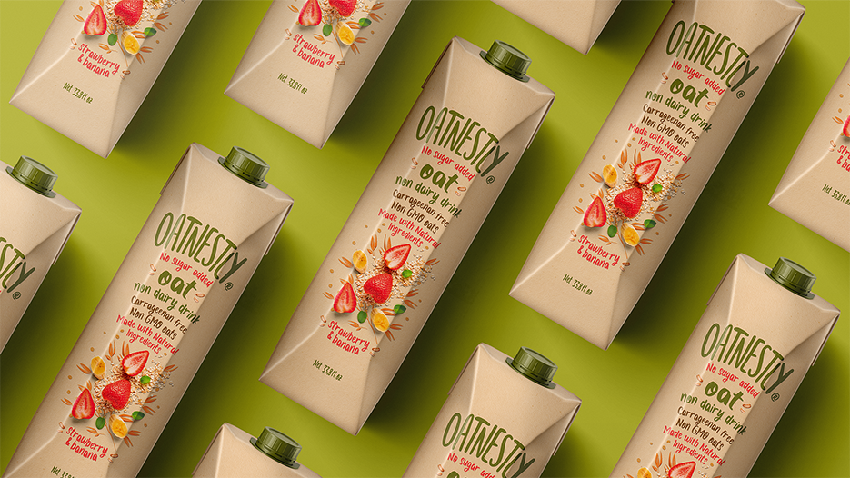 Creamos Create a Brand and Packaging Design for Oatnestly