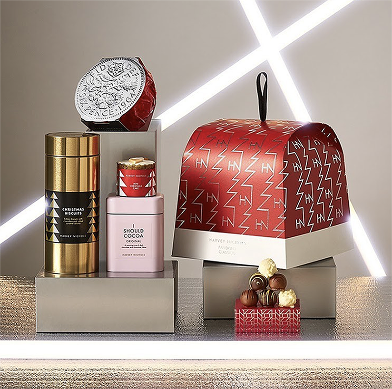 Smith &+ Village's Christmas 2020 Food and Drink Designs for Harvey Nichols