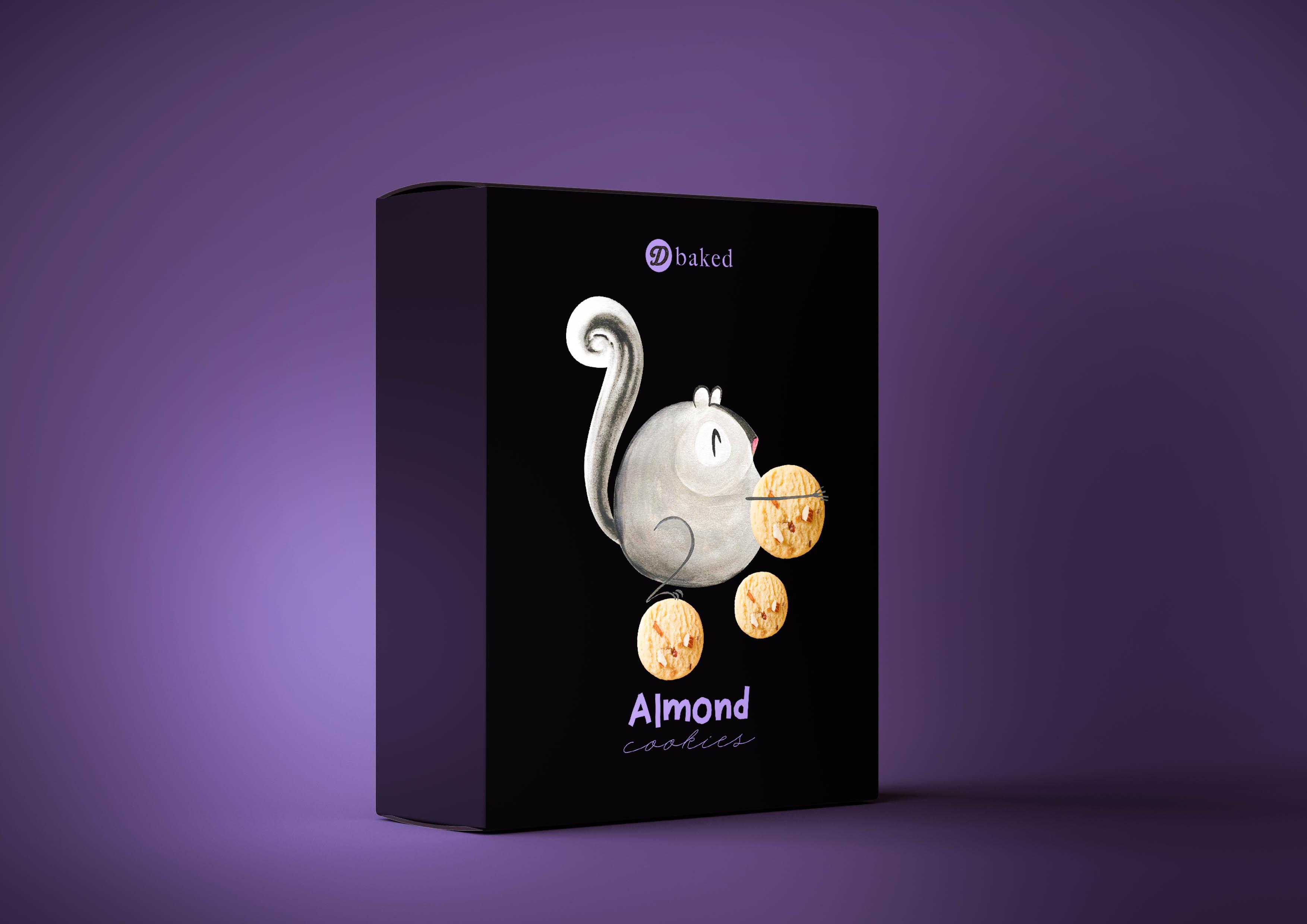 Dusadee Lamkijja Creates New Trendy Cookies Packaging Design